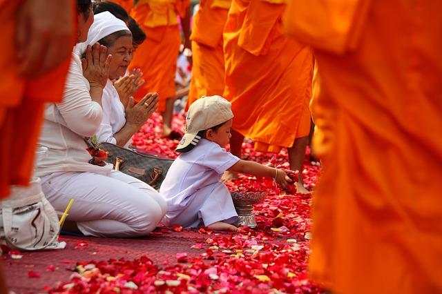 monks ritual