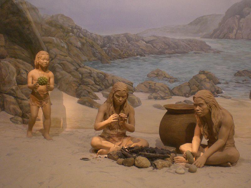 - stone age camp -