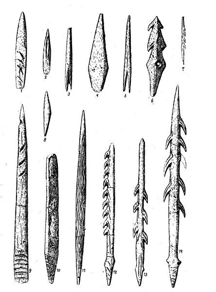 - prehistoric weapons -