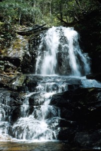 Small waterfall image