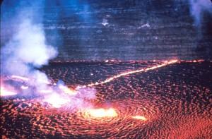 Spiritual Meditation practice lava image