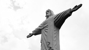 Jesus in the bible, redeemer statue