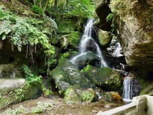 spiritual waterfall
